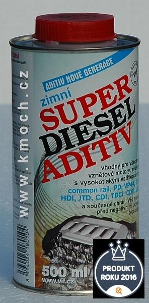 Super diesel aditiv - zimní