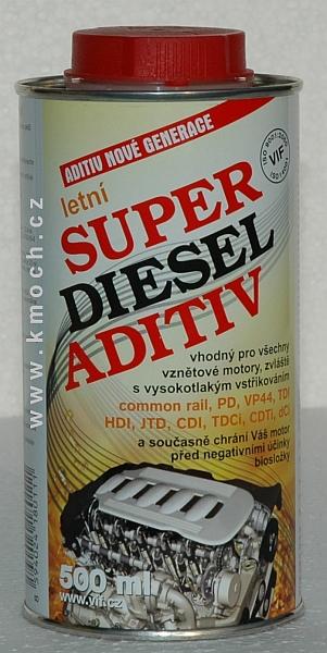 Super diesel aditiv - letní