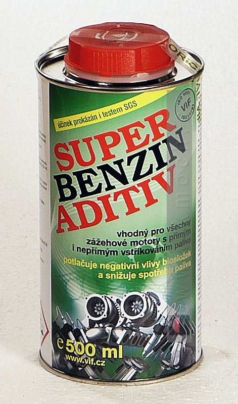 Super benzín aditiv