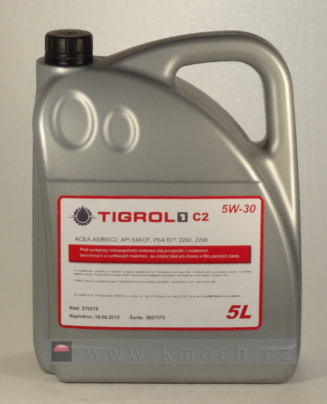 Tigrol 1 C2 5W-30 (5L)