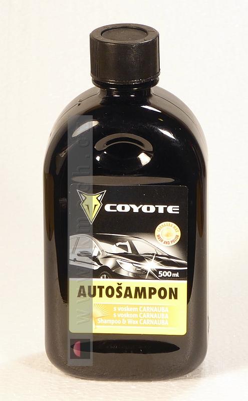 Coyote - autošampon s voskem - 500ml
