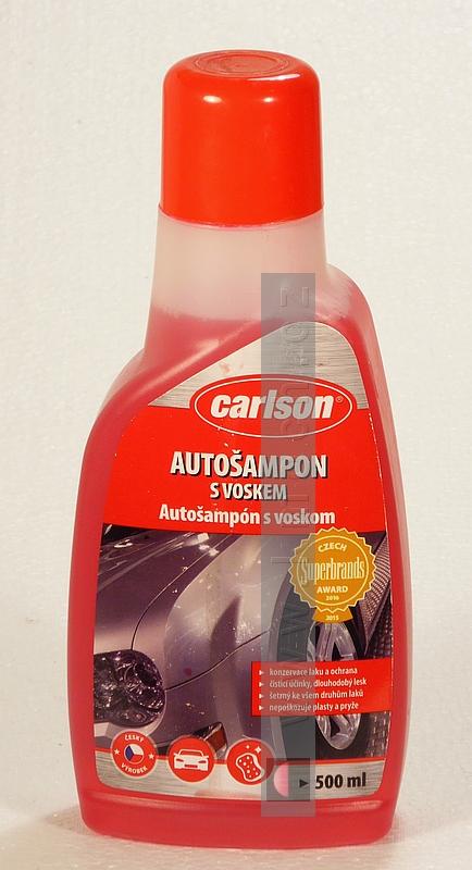 Carlson - autošampon s voskem - 500 ml