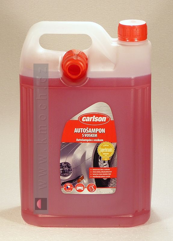 Carlson - autošampon s voskem - 5L